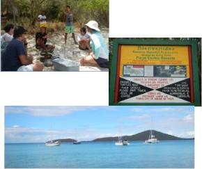 Planes de acción de la Reserva Marina del Canal LuisPeña